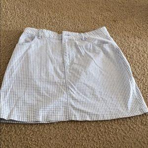 Gingham Forever 21 Skirt